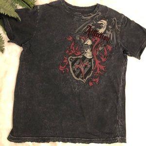 Affliction velvet armor t shirt